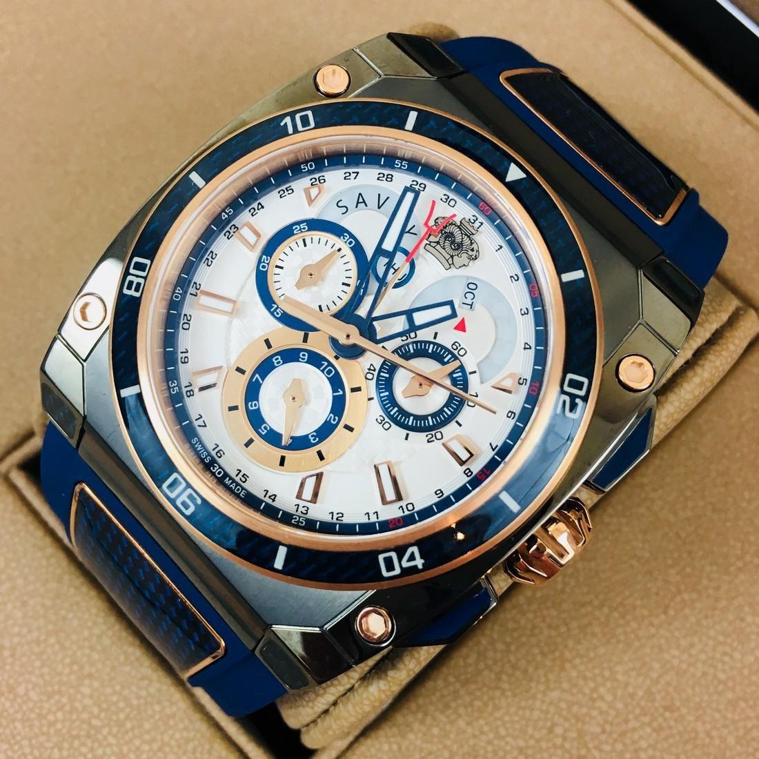 Savoy Titanium Carbon Swiss Made Luxury Watch - 2