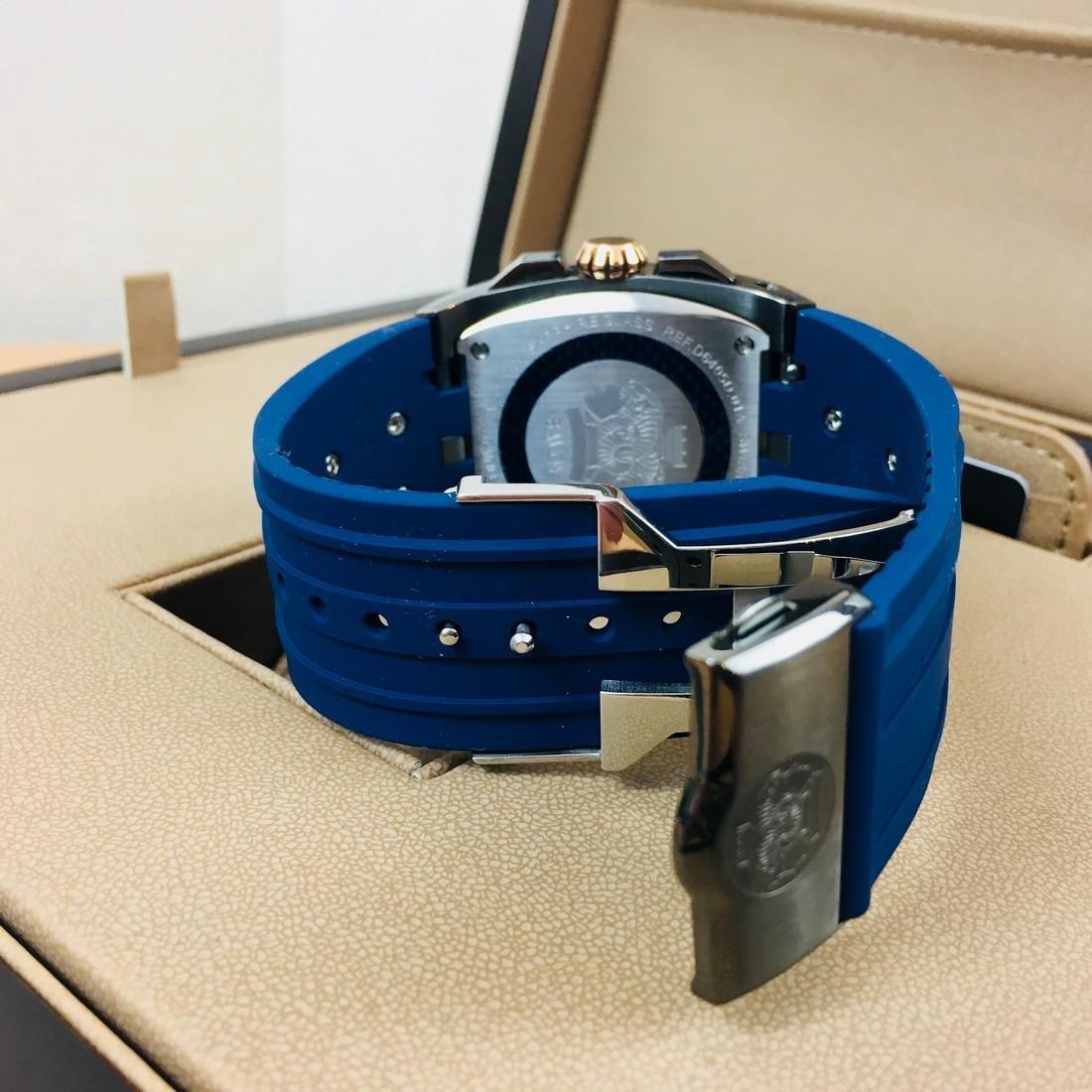 Savoy Titanium Carbon Swiss Made Luxury Watch - 5