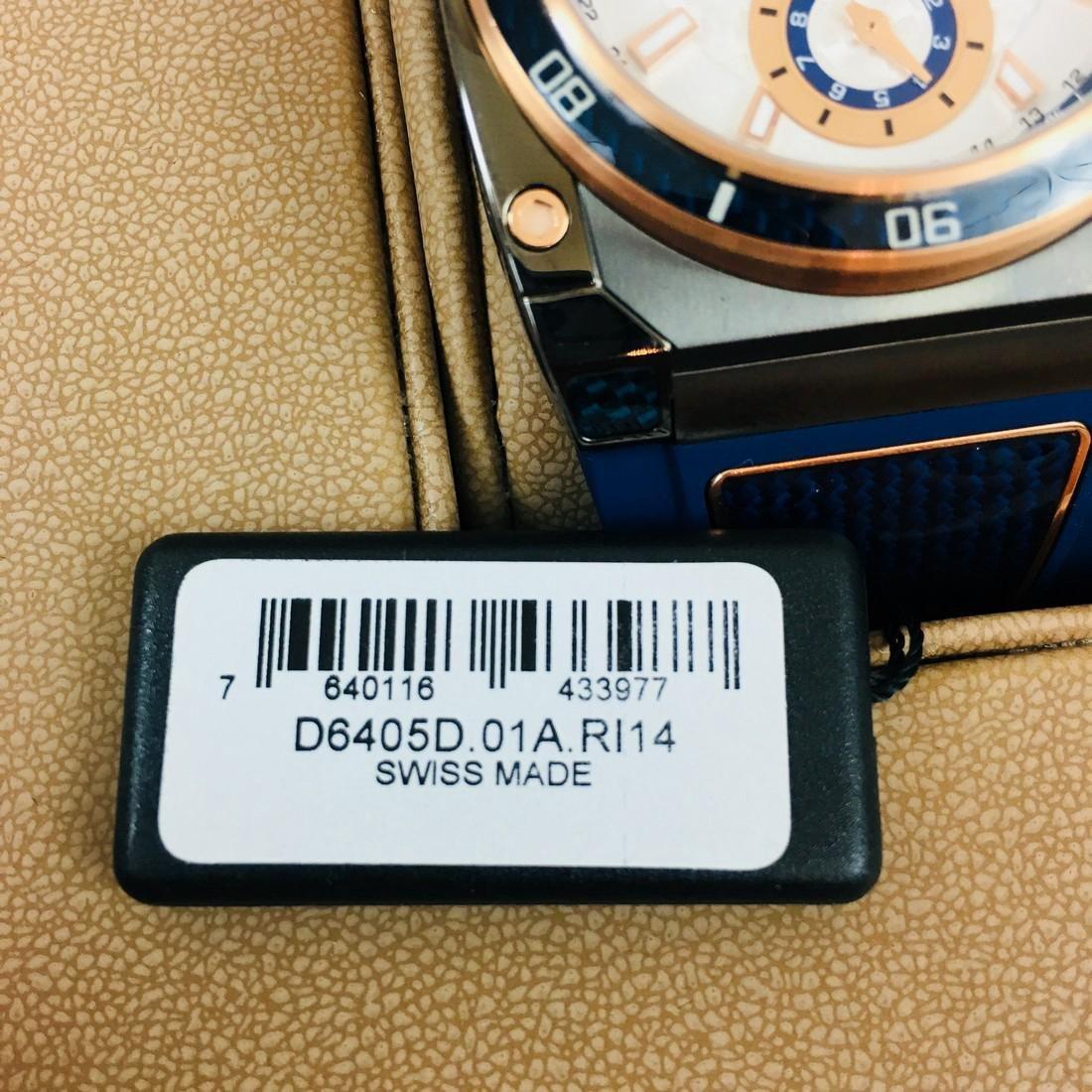 Savoy Titanium Carbon Swiss Made Luxury Watch - 8