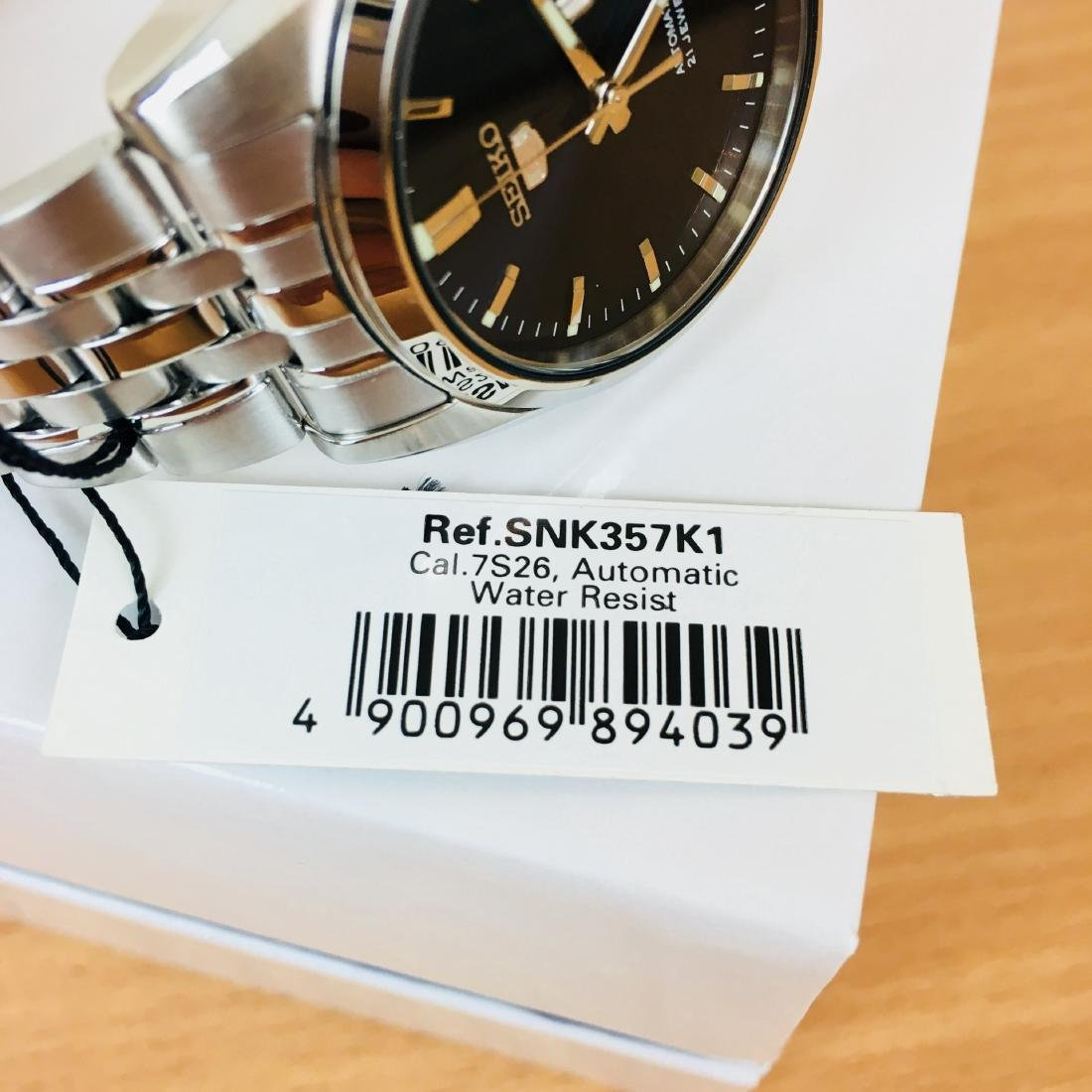 SEIKO 5 Men's Automatic Watch Brand New with Box - 9