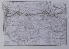 Rand McNally 'Through Wonderland' Yellowstone Brouchure