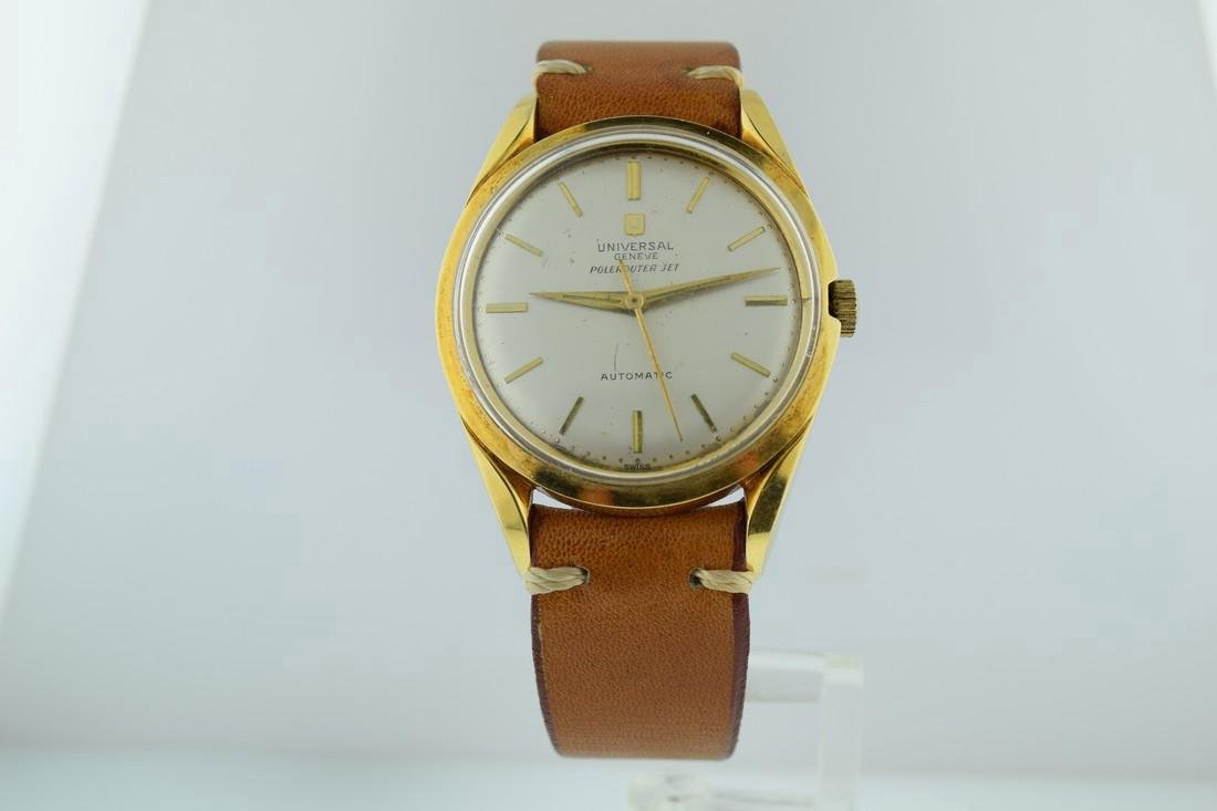Universal Geneve Polerouter Jet Automatic Watch, 1960s