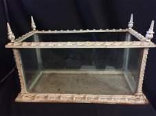 19c Cast Iron Terrarium Made by Fiske of New York City