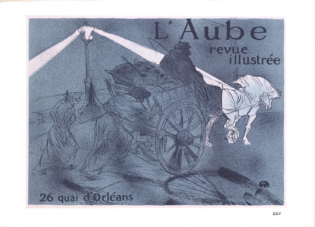 3 Assorted Henri de Toulouse-Lautrec Lithographs