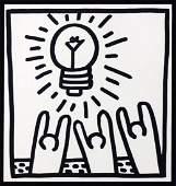 Keith Haring Print Bulb