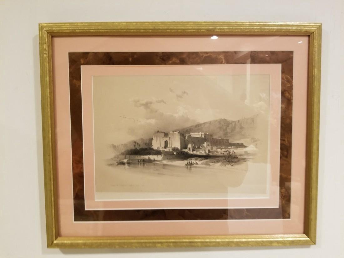 David Roberts Original Lithograph