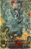Marc Chagall Lithograph the Magic Flute