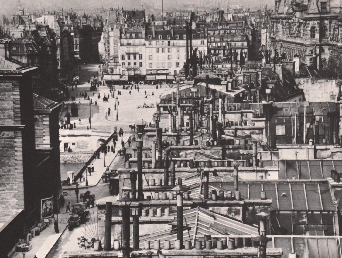 ALVIN LANGDON COBURN - Roofs, Paris 1913