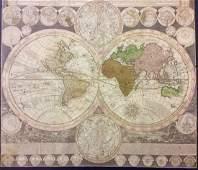 Zurner: Antique Map of the World, 1700
