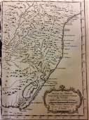 Bellin: Antique Map of Brazil Coast, 1740