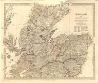 SDUK: Antique Map of North Scotland, 1845