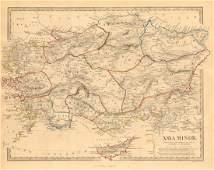 SDUK: Antique Map of Ancient Asia Minor, 1846