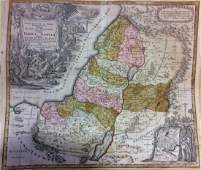 Seutter Antique Map of Holy Land 1740