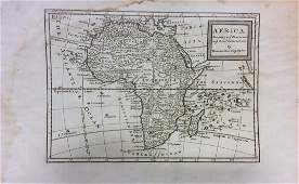 Moll: Antique Map of Africa, 1746