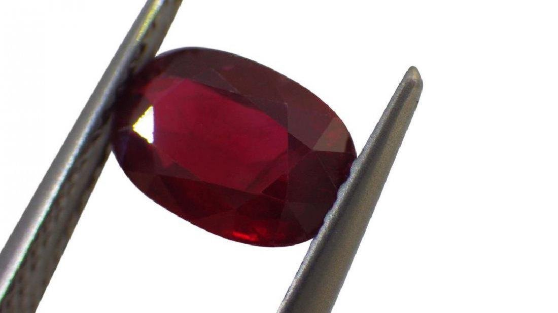 1.39 Carat Loose GIA Certified Unheated Ruby