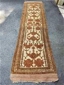 Hand Knotted Afghan Tribal Rug 9.6x3
