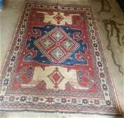 Handknotted Kazak Tribal Rug 8x5