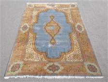 Semi Antique Open Field Persian Kerman Rug 8x116