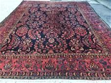 Antique Persian Sarouk Mohajeran Rug 10.8x13.10
