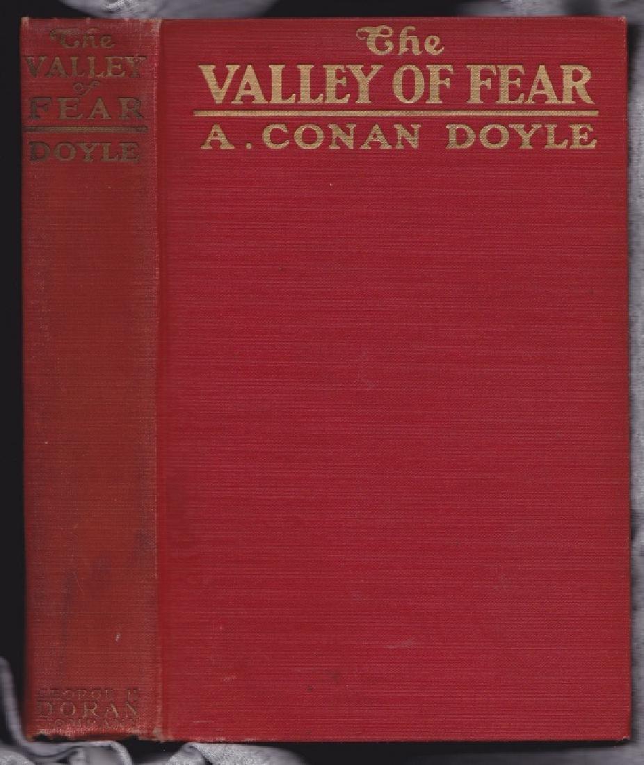 Doyle, Arthur Conan The Valley of Fear Sherlock Holmes
