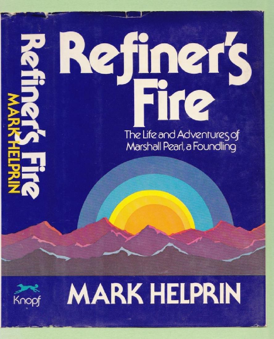 Helprin, Mark Refiner's Fire - Signed