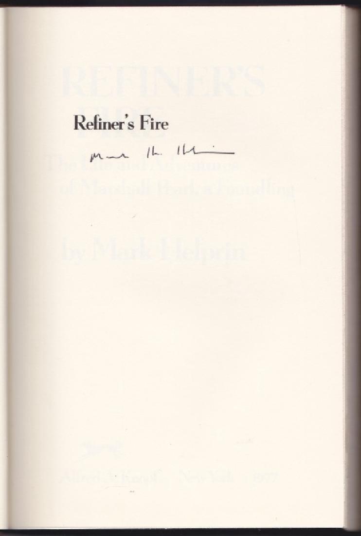 Helprin, Mark Refiner's Fire - Signed - 2