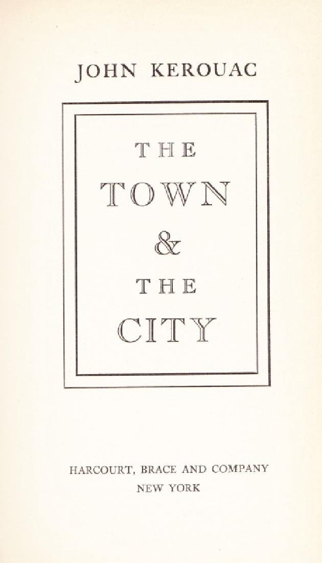 Kerouac, John (Jack) The Town and the City - 3