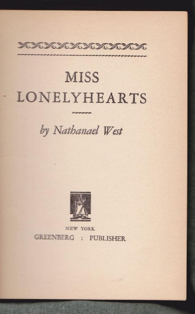 West, Nathanael Miss Lonelyhearts