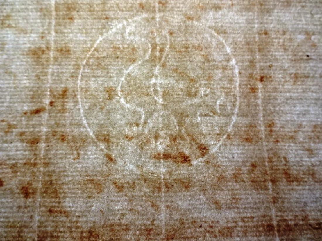 1596 Docket Leaf Papal Bull Rome - 2