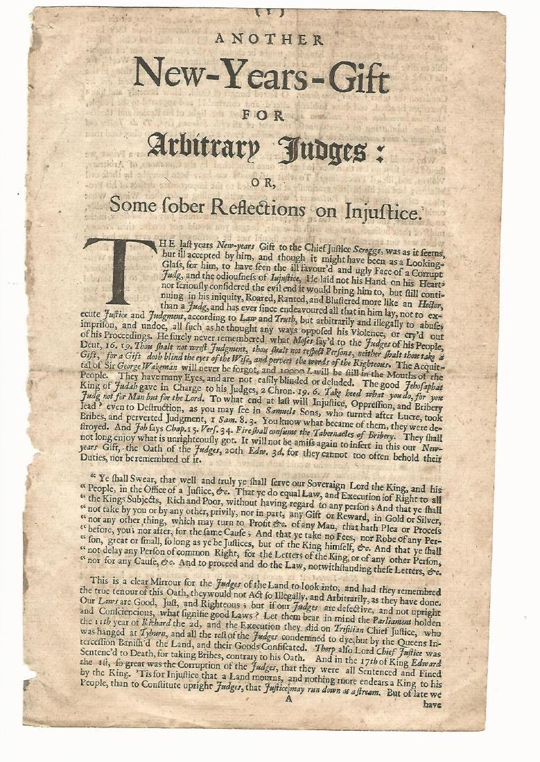 1681 Another New-Years-Gift for Arbitrary Judges