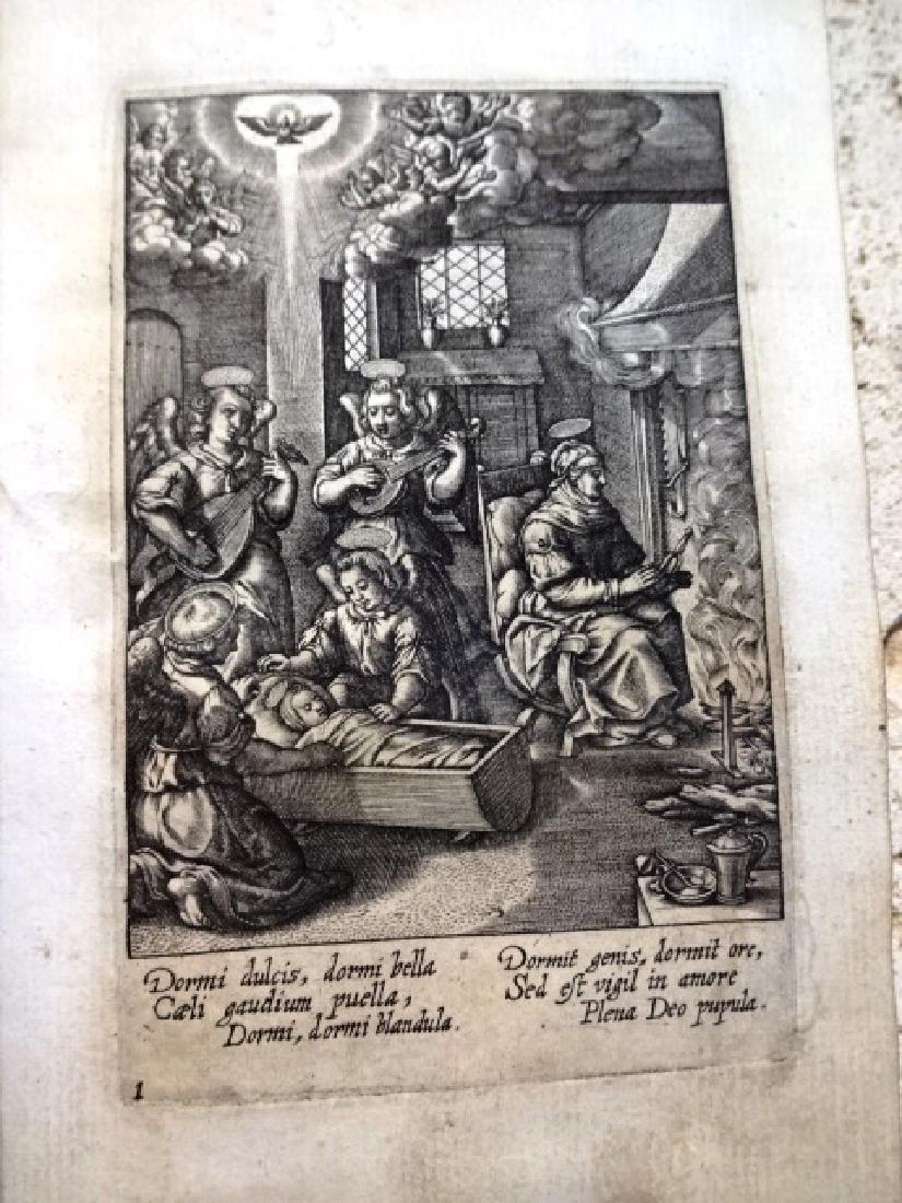 1600 Wierx Plate Book Bound w/ Others - 3