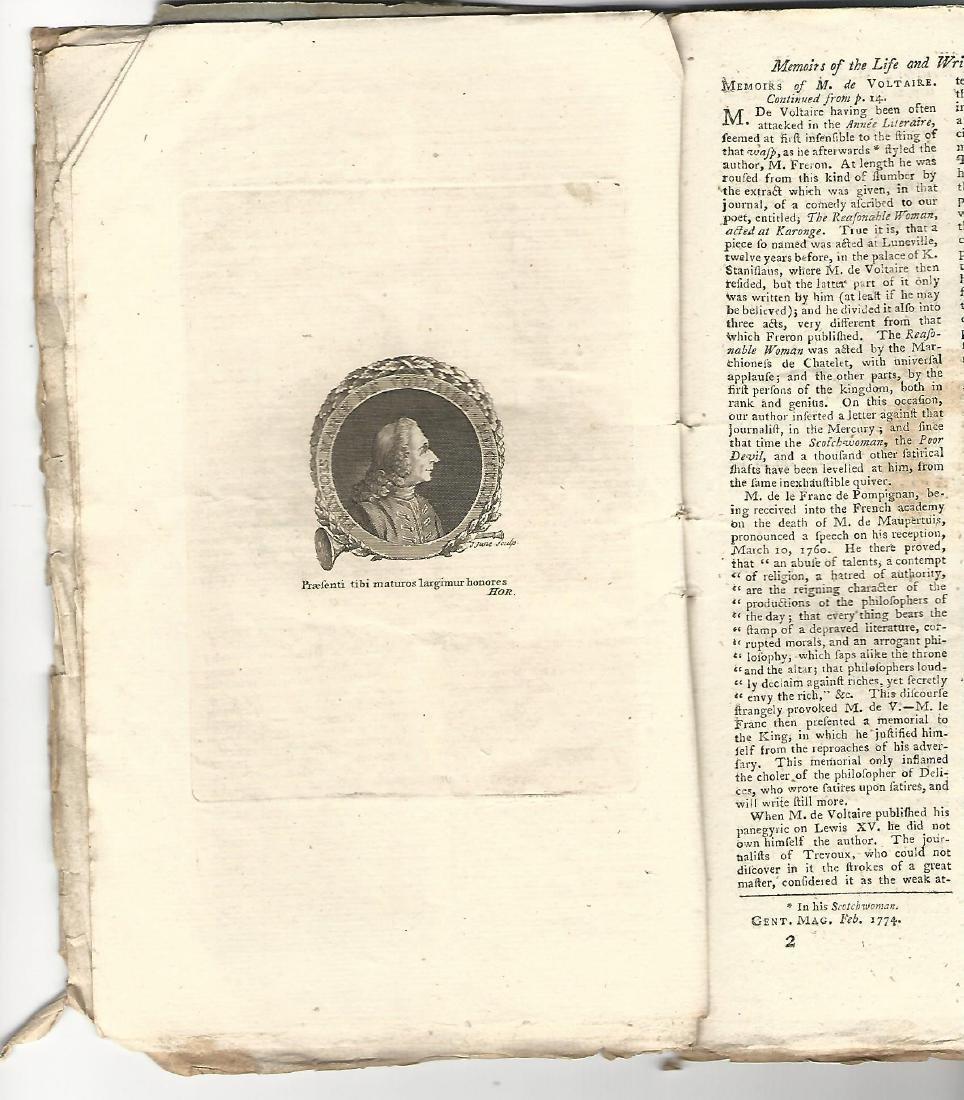 1774 Magazine Account of Cook's Voyage Around World - 3