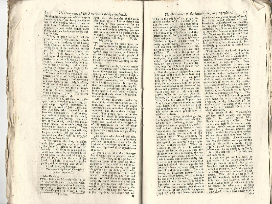 1774 Magazine Account of Cook's Voyage Around World - 5