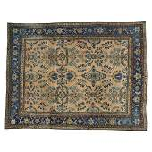 Antique Persian Mahal Hand Knotted Rug 9.7x12.6