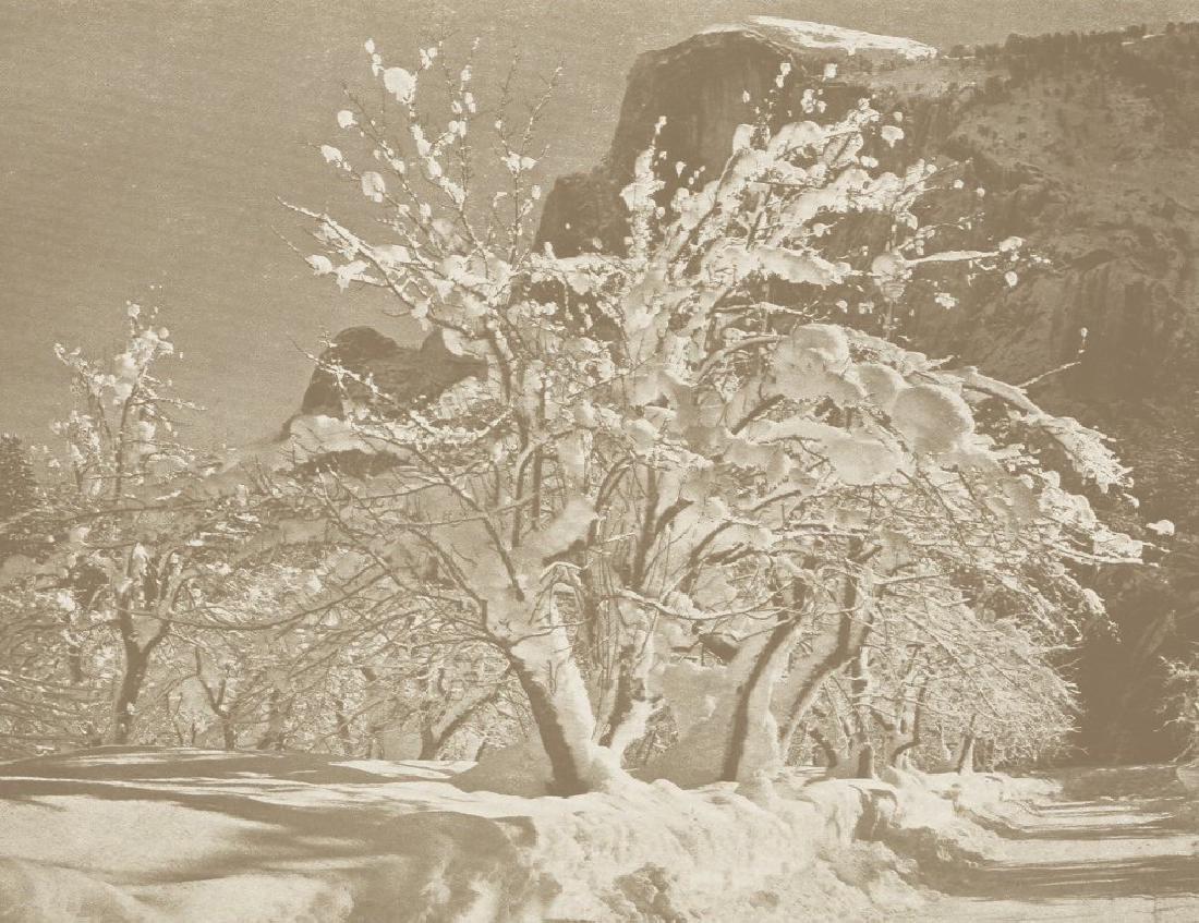 ANSEL ADAMS- Yosemite Valley, Winter