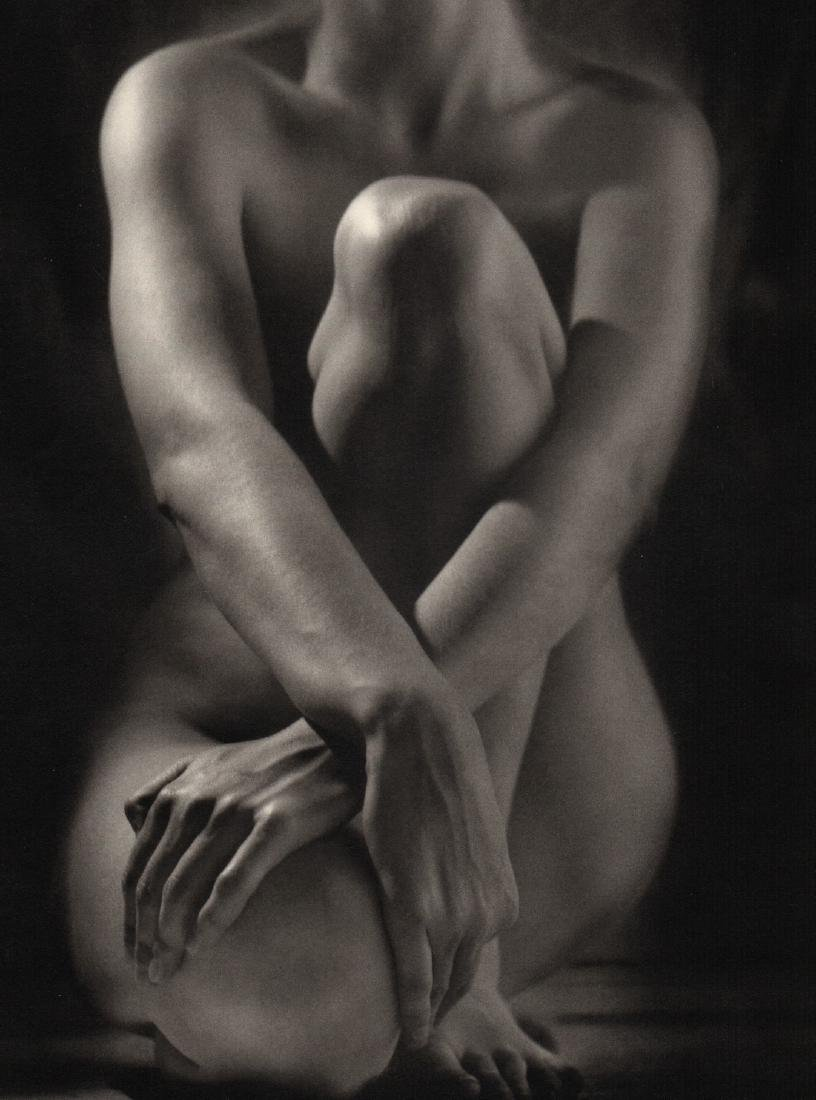 RUTH BERNHARD - Classic Torso With Hands, 1952