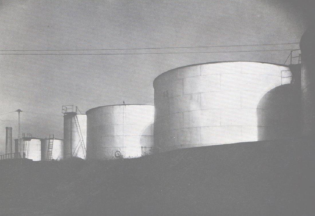 MARGARET BOURKE-WHITE - Oil Tanks