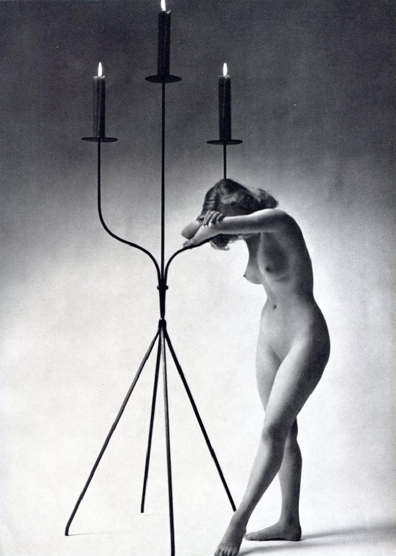 ZOLTAN GLASS - Nude Study with Candles
