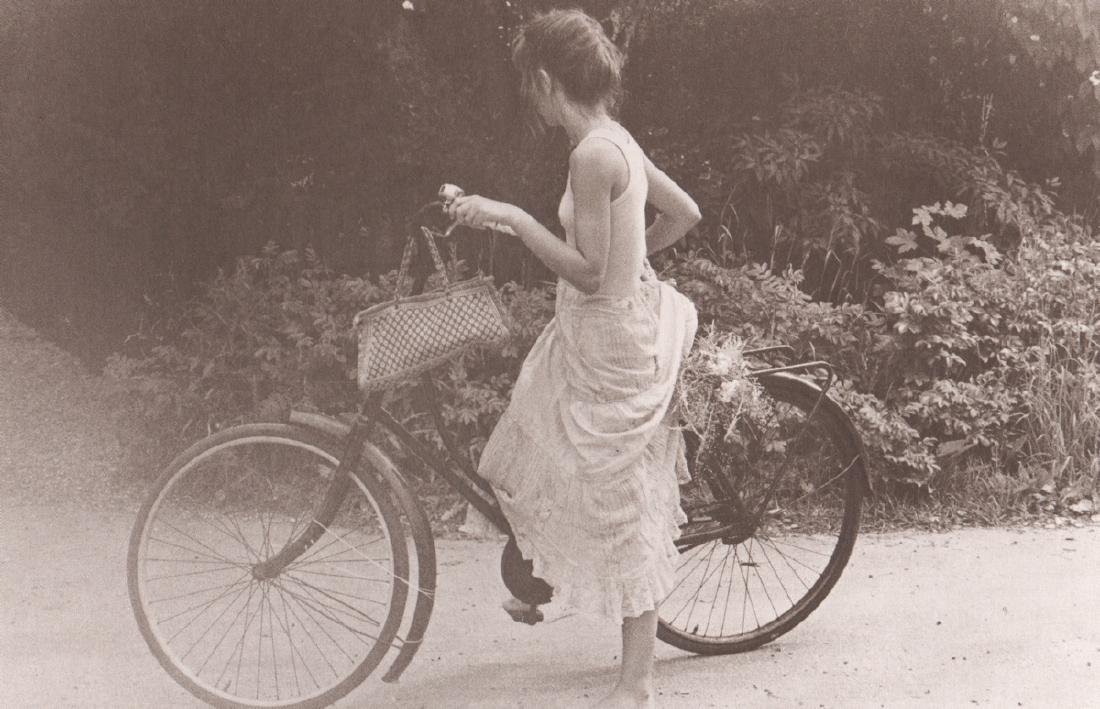 DAVID HAMILTON - Girl on a Bicycle