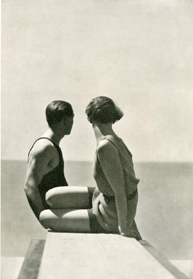GEORGE HOYNINGEN-HUENE - Fashion Portrait, Conde Nast