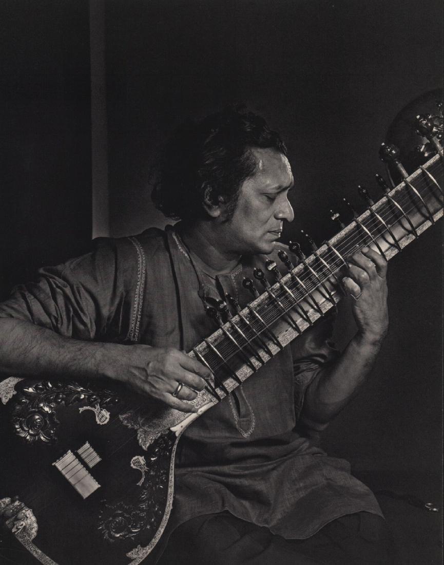YOUSUF KARSH - Ravi Shankar