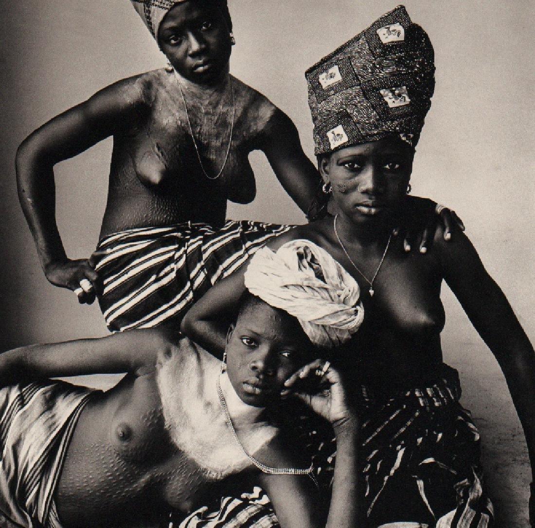 IRVING PENN - Three Girls, Dahomey, 1967