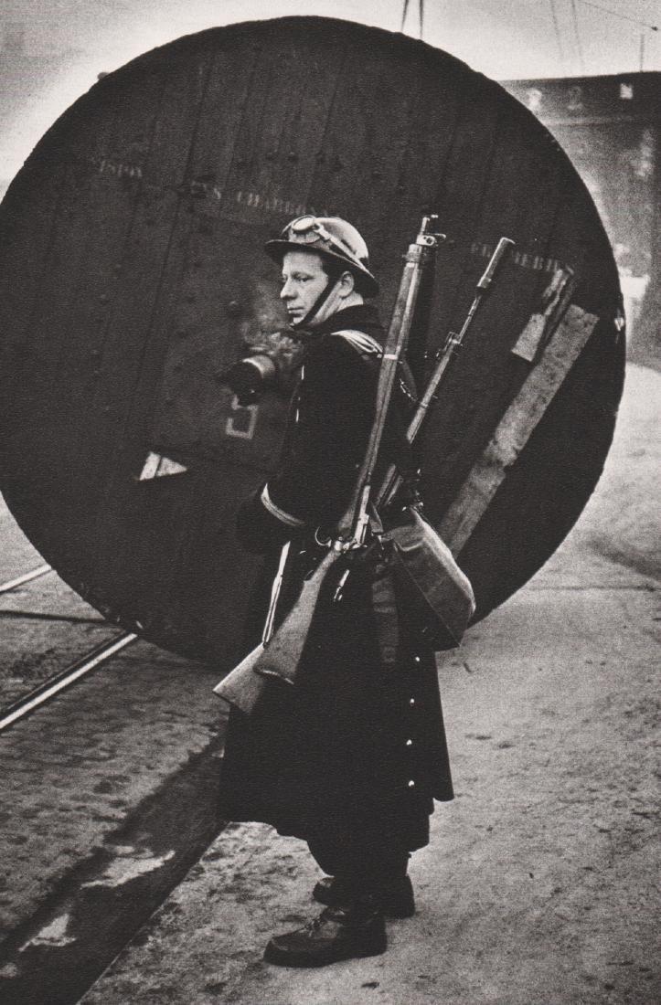JEANLOUP SIEFF - Strike in Borinage, Belgium. 1959