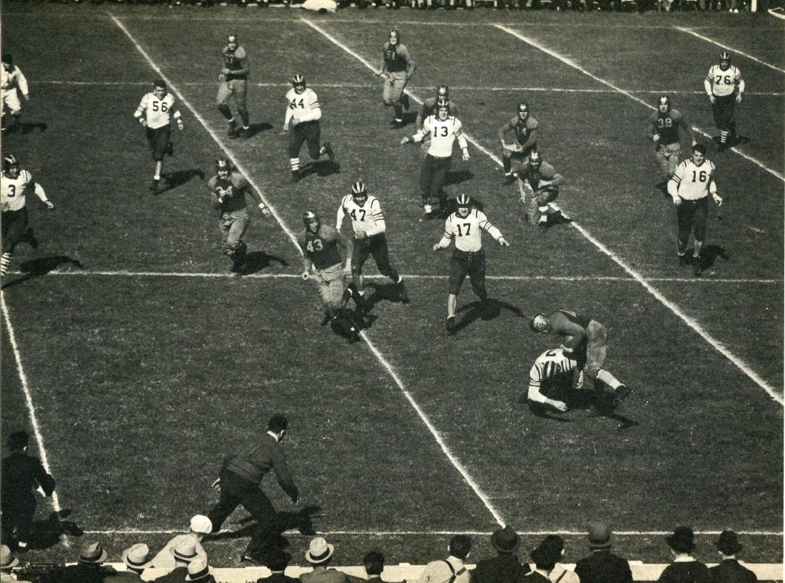 FRED STANGER -  End Run - Packers and Giants