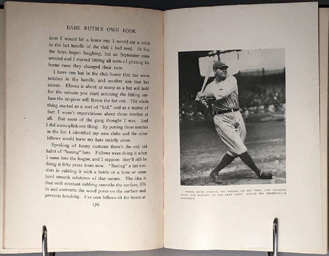 Babe Ruth's Own Book of Baseball George Herman Ruth - 10