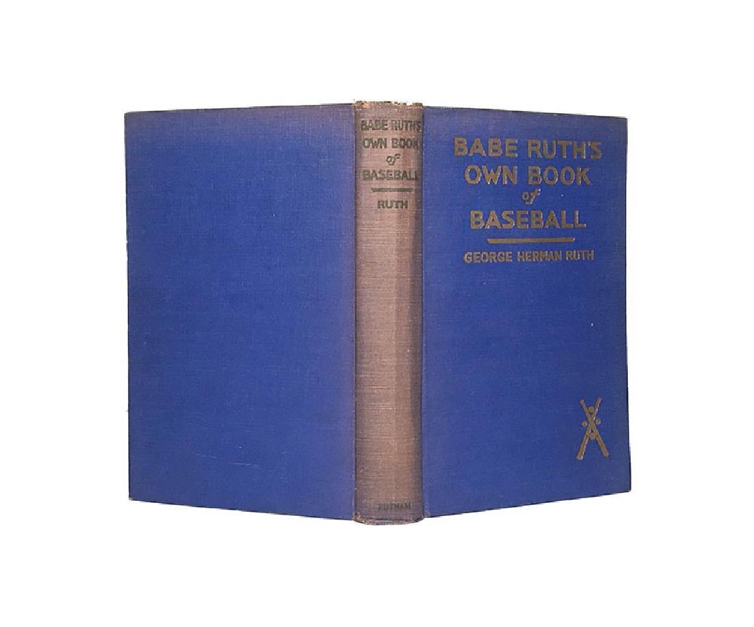 Babe Ruth's Own Book of Baseball George Herman Ruth