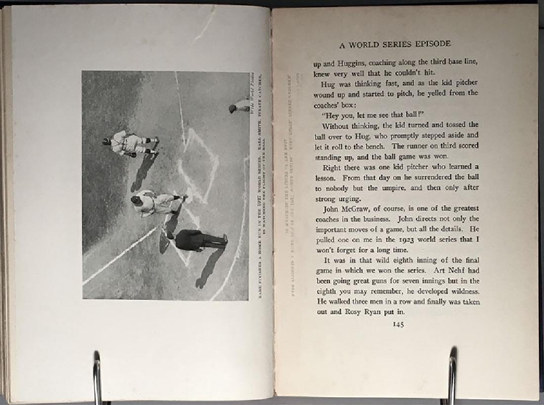 Babe Ruth's Own Book of Baseball George Herman Ruth - 9