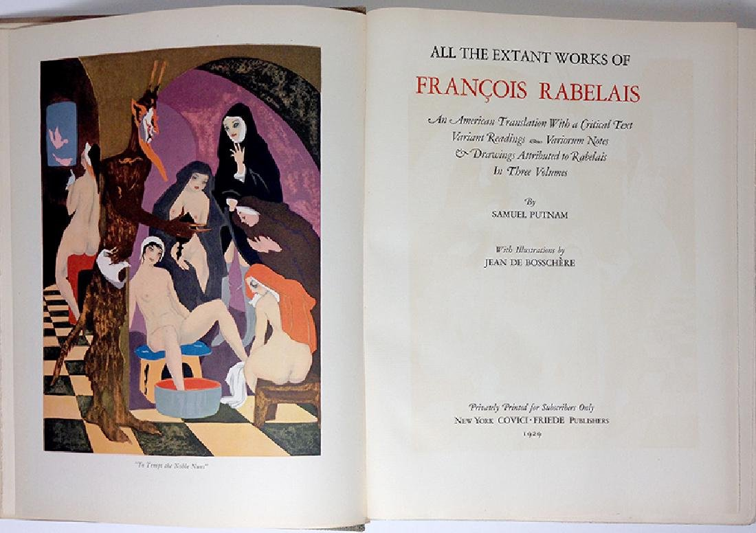 The Works of Francois Rabelais - 6