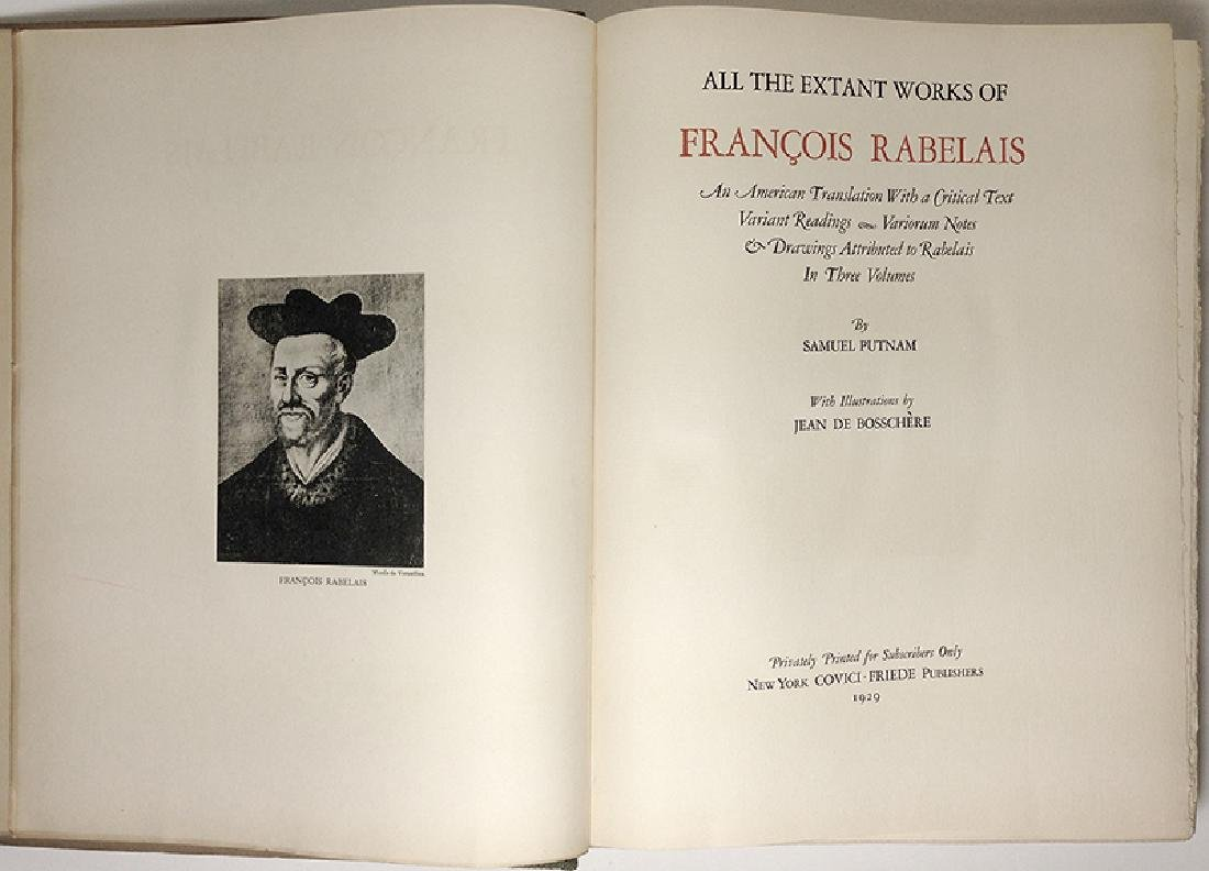 The Works of Francois Rabelais - 9