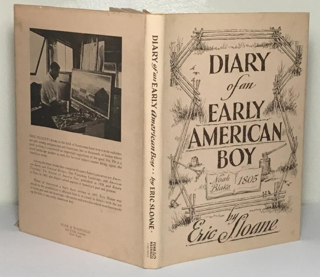 Diary Early American Boy, Noah Blake 1805 Eric Sloane